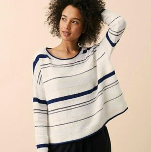 Lou & Grey Sweaters - Lou & Grey Stripemix Sweater